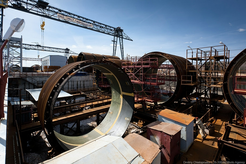 The Unique Hydroelectric Project In The Moscow Region