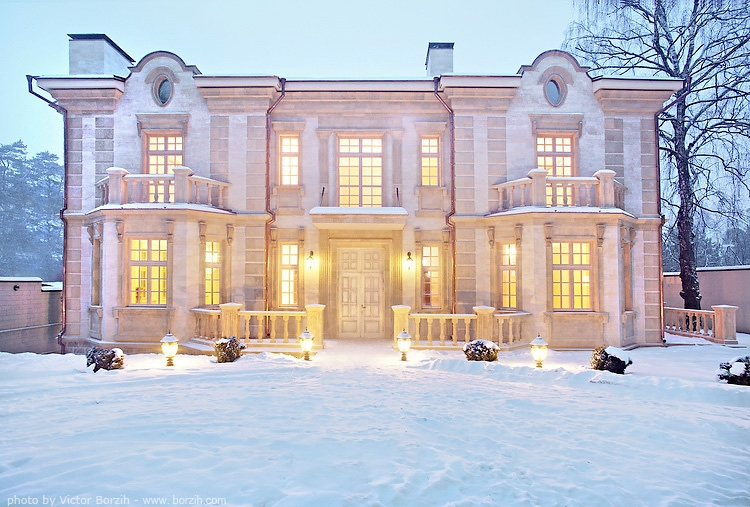 Houses For Moscow Elite