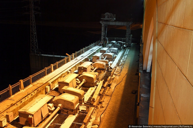 The Hydro Power Plant In Moldova