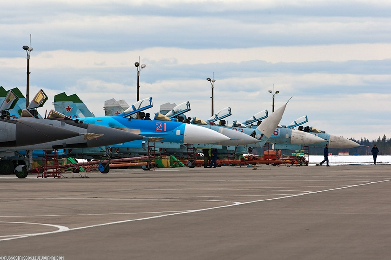 Secret Airbase in Khotilovo