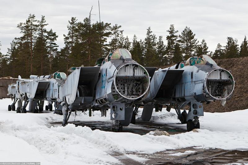MiG-31 Boneyard [photos]