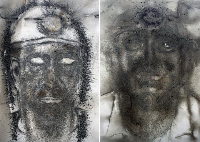Unusual Portaits Of Miners