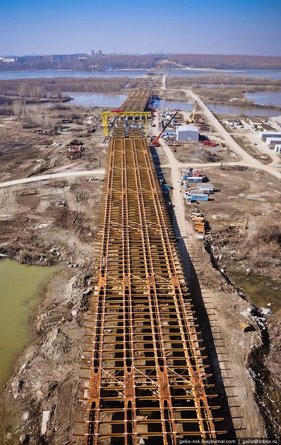 The 3rd Bridge Over The Ob In Novosibirsk
