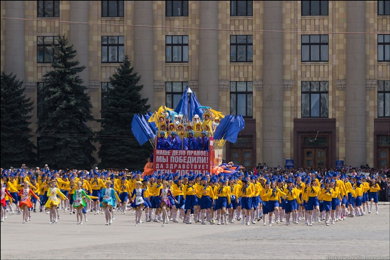 Russia Celebrates The Victory Day