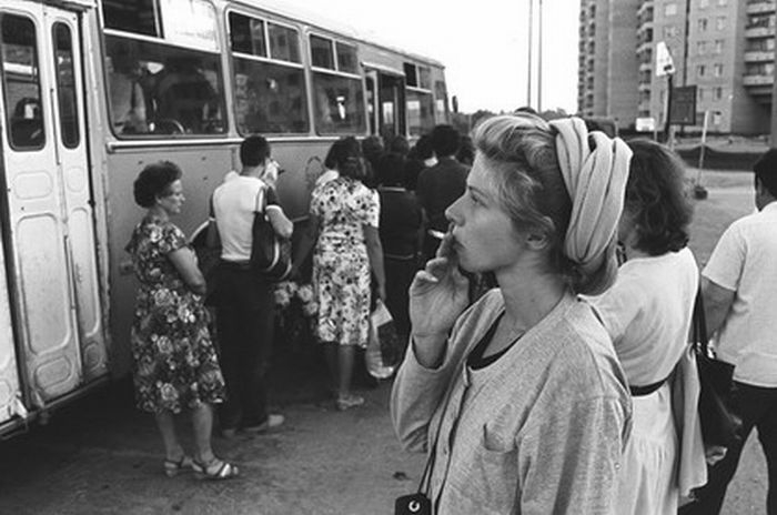 Private Photos Of the USSR Inhabitants
