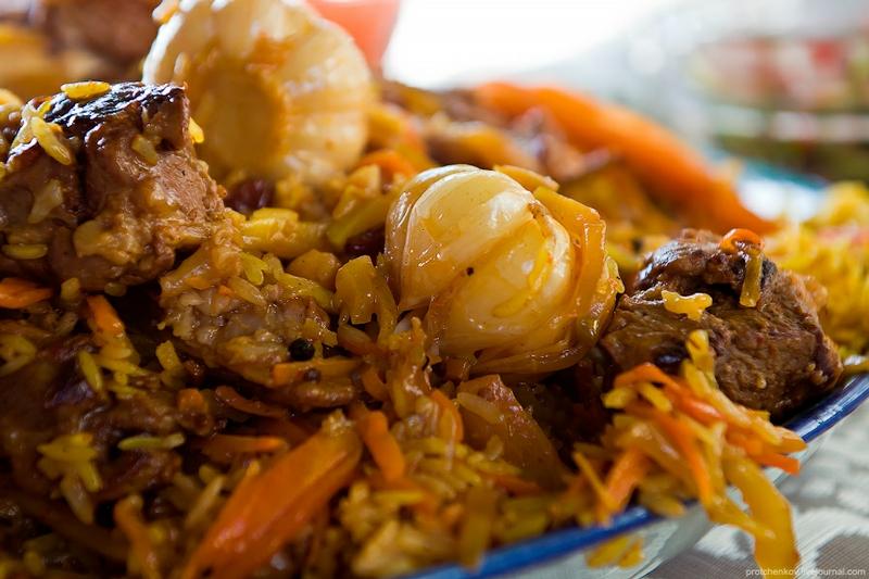 Татарский сладкий рис