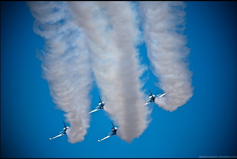 Up In The Sky With Aerobatic Group Rus