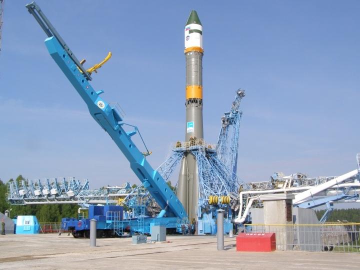 Rocket Launch In the Plesetsk Cosmodrome