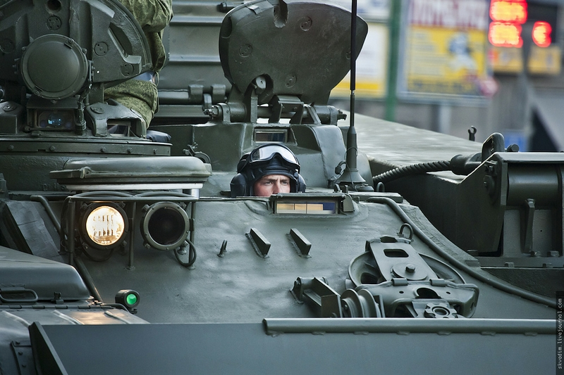 Dress Rehearsals Of Military Parade Dedicated To The Great Victory