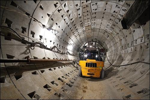 New Underground Station In Kiev