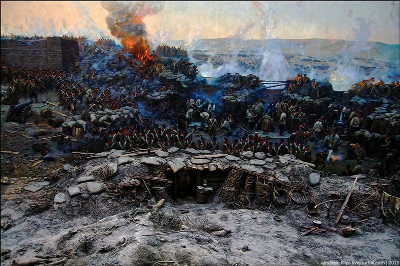 Siege Of Sevastopol 1854-1855 In A Panorama