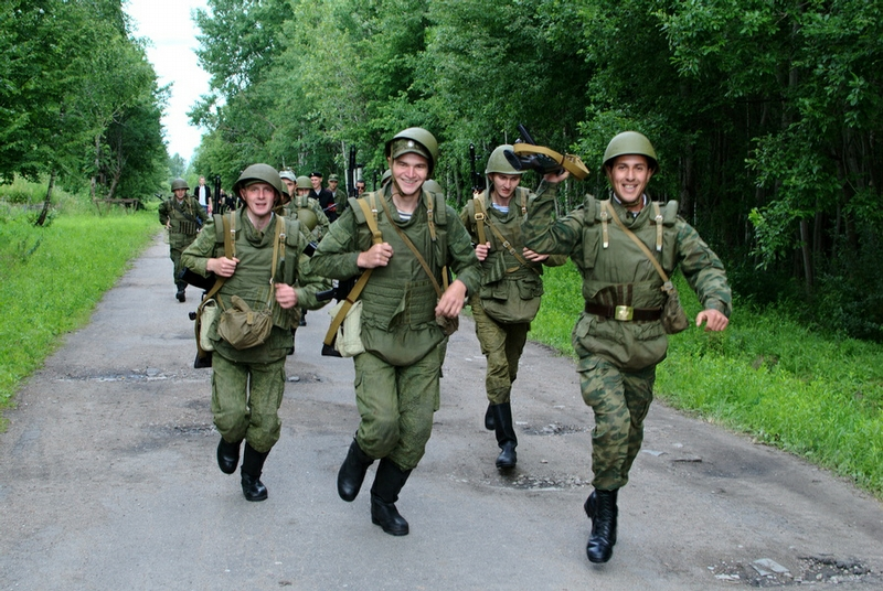 Shame On Russian Army?