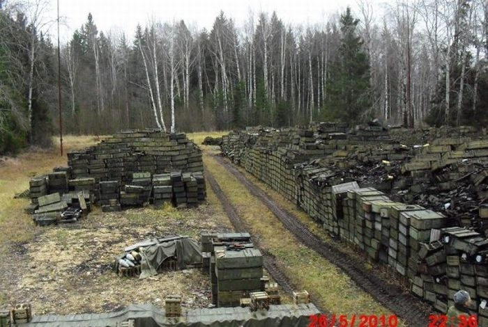 How Is Russian Ammunition Stored?