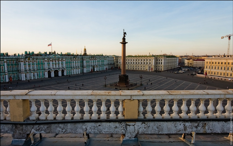 St. Petersburg From The Roofs