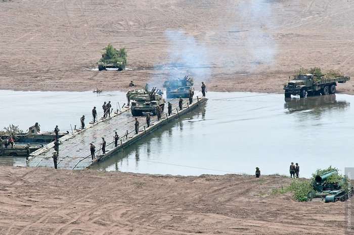 Military Trainings on the River Onon