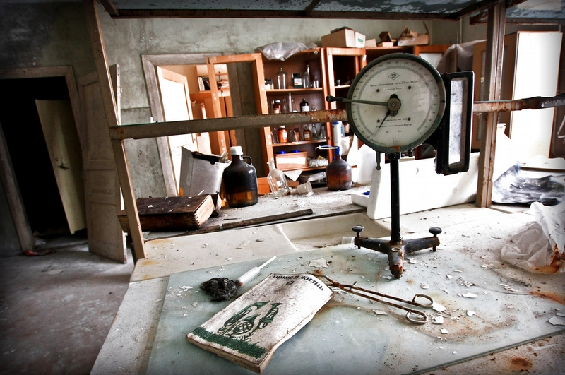 Abandoned Biological Hormonal Research Soviet Lab