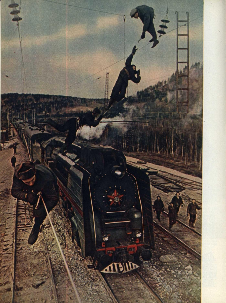 105 Photos out of Soviet Vintage Magazines
