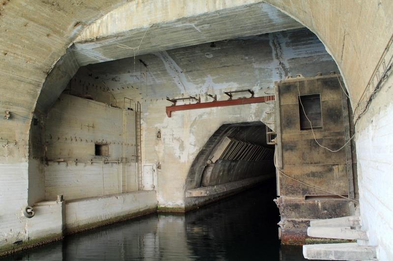 Huge Underground Soviet Submarine Base in Balaklava