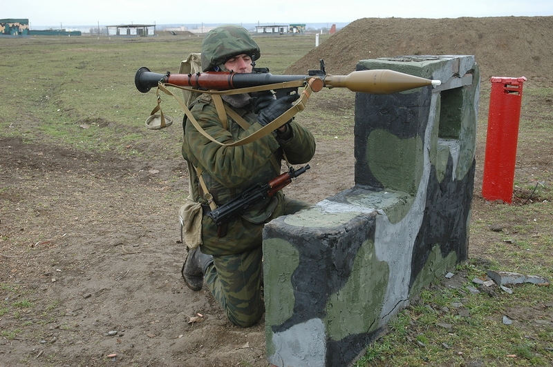 Training of the 18th Motorized Infantry Battalion