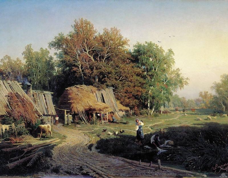 19th Century Russian Artist Fyodor Vasilyev