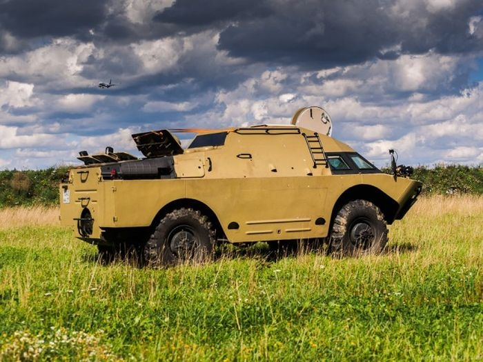 The armored vehicle BRDM-2 that received the second life