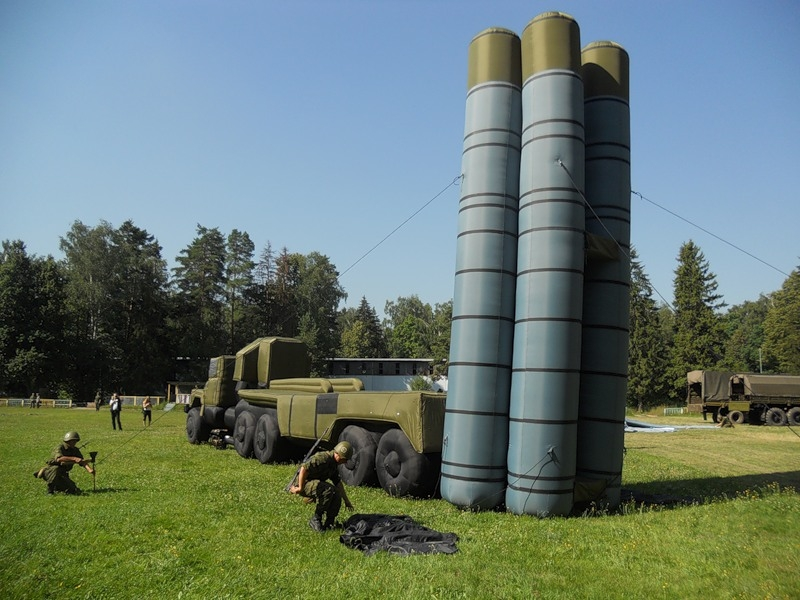 The Demonstrative Exercises of the 45th Engineer Regiment