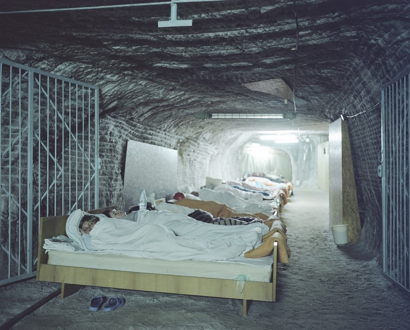 Thousand Feet Underground: Salt Caves Used for Treatment