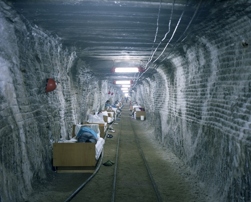 Thousand Feet Underground: Salt Caves Used for Treatment