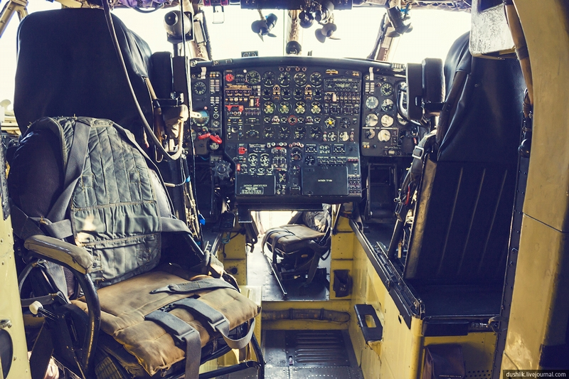 AN-12 Soviet Airplane