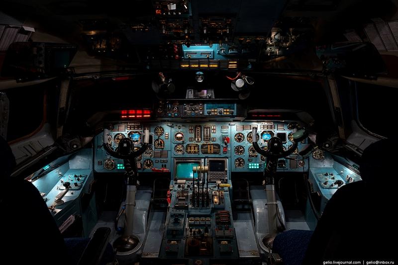 A Sneak Peek into an AN-124 Ruslan, the World's Largest Aircraft