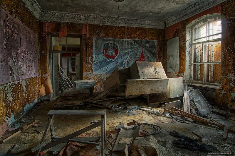 An Old Abandoned Cossacks Barracks