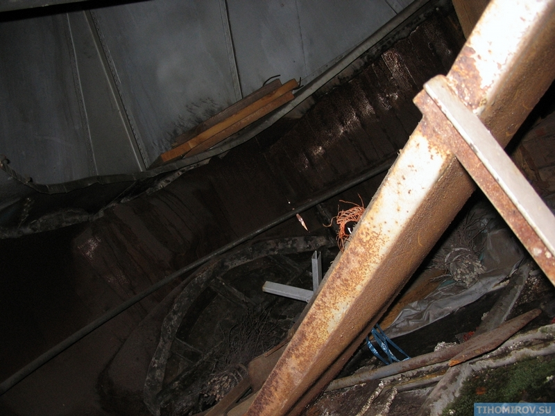Abandoned and Rusty Soviet Turbo Jet Train