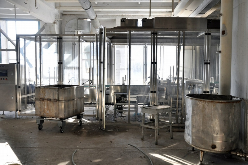 Abandoned Milk Factory in Novocherkask, Russia