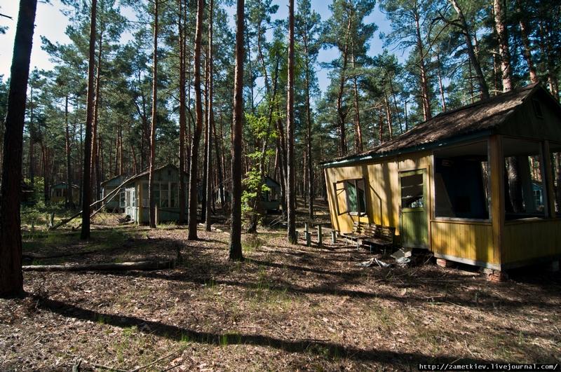 Abandoned resort in Chernobyl