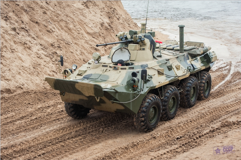 BTR 82 - an Upgraded Soviet Machine