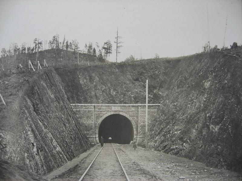 Round Baikal Rail Road Construction Photos