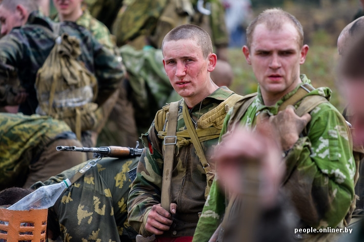 Special Forces Contest in Belarus