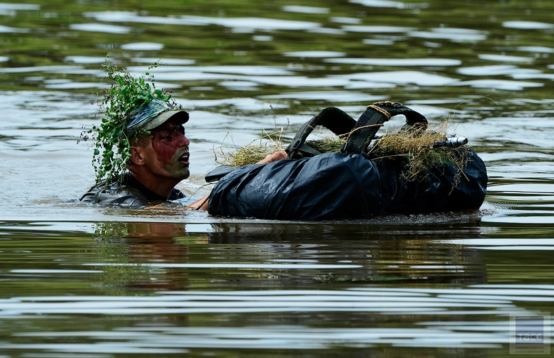 A large exercises of the 5th Army of overcoming water obstacles in Primorye