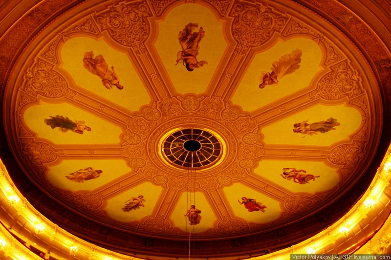 Peep Into The Bolshoi Theatre