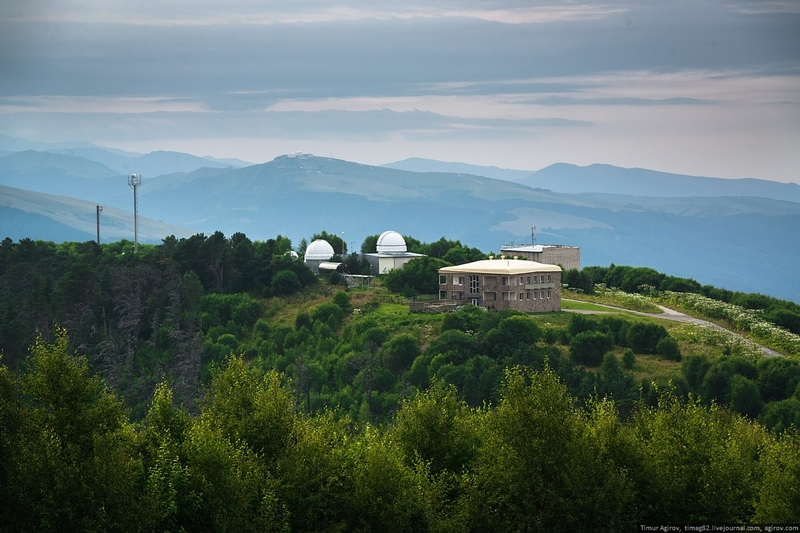The Biggest Telescope in Europe and Asia