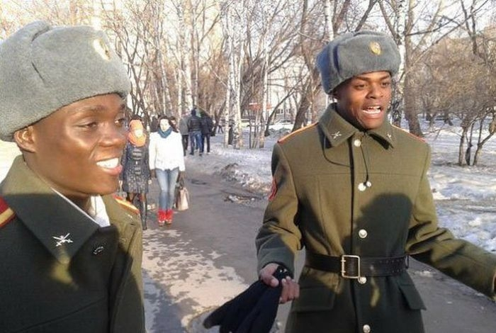 Black People in Russia