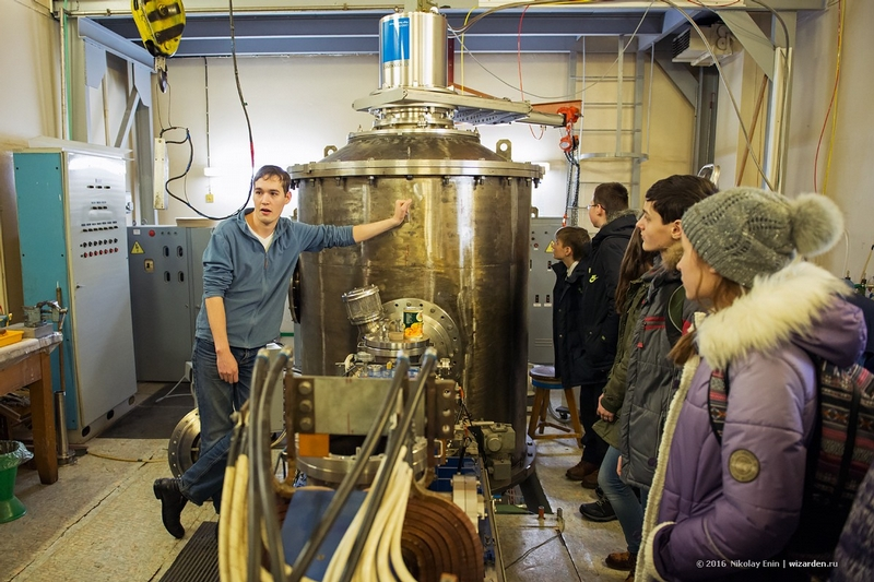 Excursion to the Budker Institute of Nuclear Physics