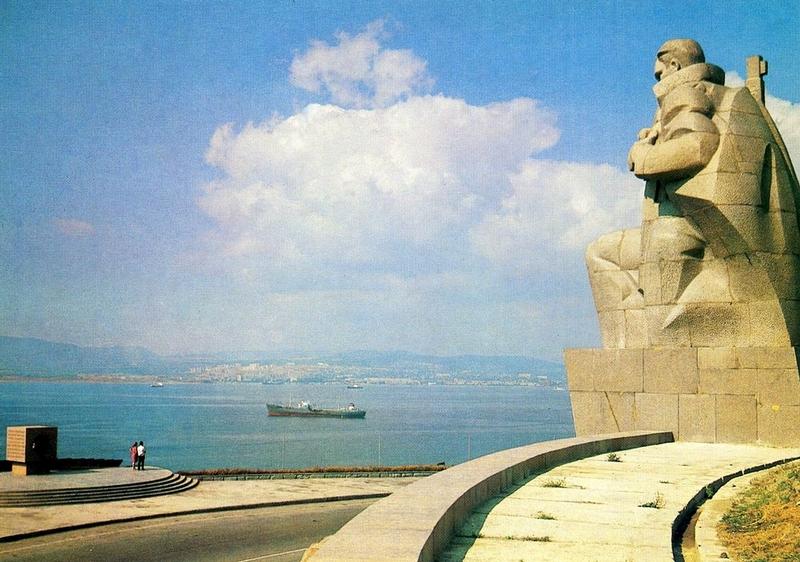 Caucasus Black Sea coast in 1983