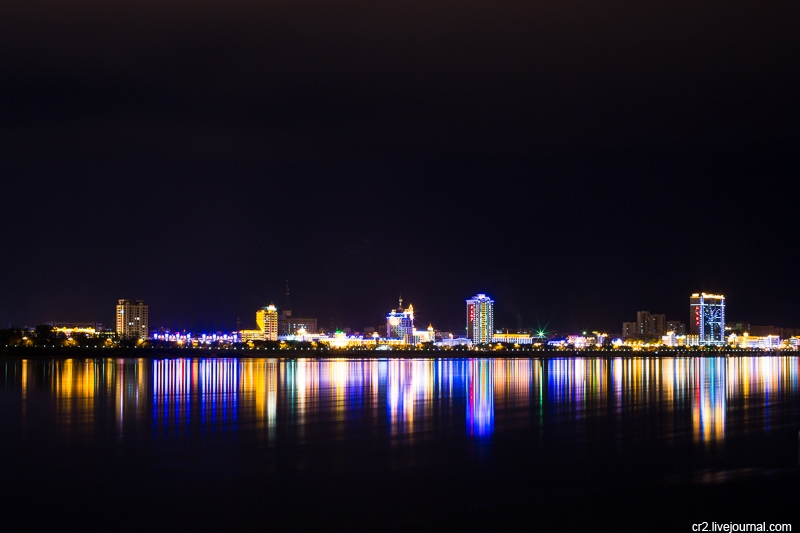 Chinese City Heihe as Seen from Russia - English Russia