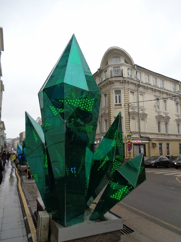 Moscow Streets Have Got those Crystals