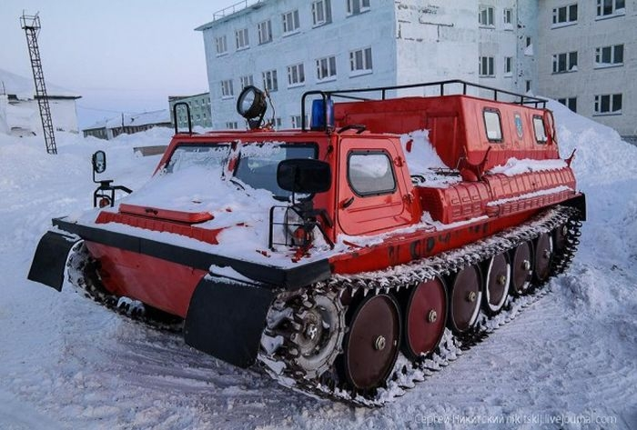 Russian Restricted Arctic Village Dikson