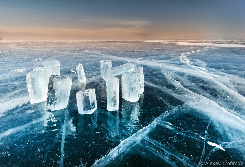 Dangerous Ice Roads Of The Baikal Lake In Spring English