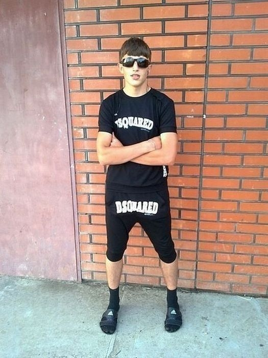 Dsquared Pants: a New Disease of Russian Youths