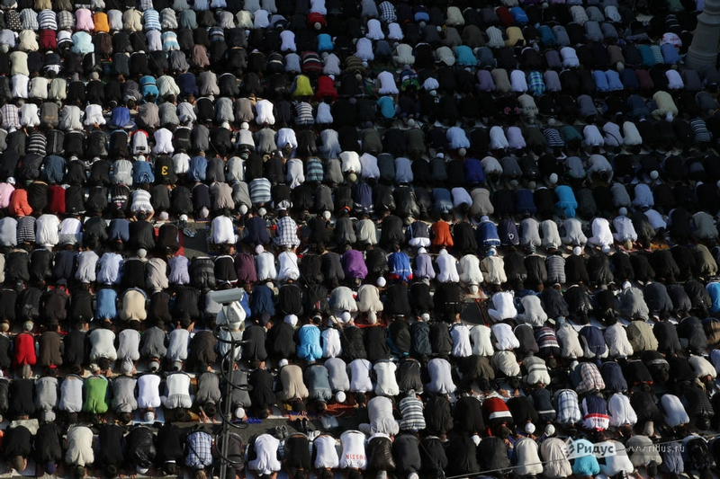 Celebration of the Great Muslim Holiday of Eid