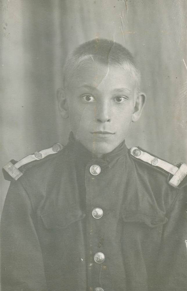Faces of Soviet Young Rail Road Students